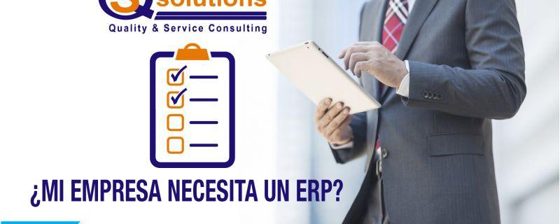 ¿Mi empresa necesita un ERP?