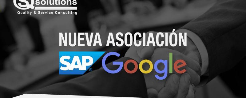 Nueva asociación entre SAP y Google
