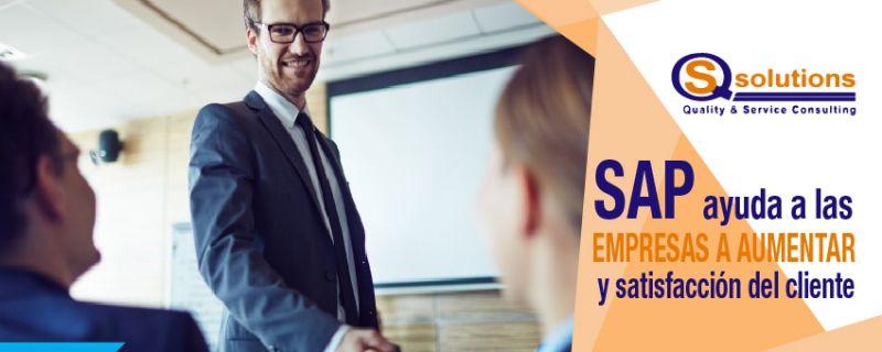 ¿Cómo puedes brindar un mejor servicio con la ayuda de SAP?